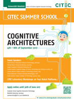 Poster for the 6th CITEC Summer School. Photo: CITEC/Bielefeld University.