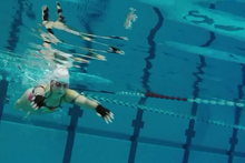 Swimming Sonification –Training with the Help of Sound Photo: CITEC/Universität Bielefeld